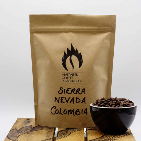 Inverness Coffee Roasting - Café moulu Colombia Sierra Nevada