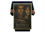 Poster rétro de collection (Braveheart) - 51*35CM