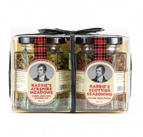 Uncle Roy's  - Duo de Rabbie's Ayrshire Meadows & Scottish Seasoning