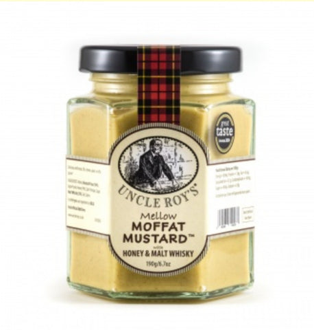 Uncle Roy's - Moffat mustard with honey & malt-whisky