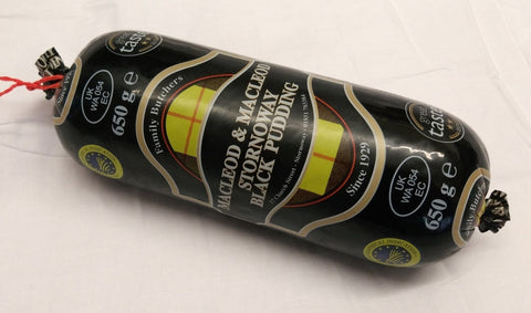Macleod & Macleod Original Stornoway Black Pudding - 650grs