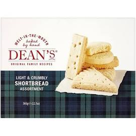Deans Shortbread Assortment - 360grs