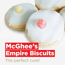 McGhees / Wallace Bakers Empire Biscuits (pack de 4)