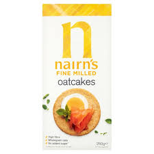 Nairn's Fine Milled Oatcakes - 250grs