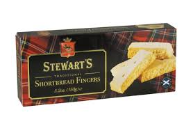 Stewart's Traditional Shortbread Fingers - 150grs