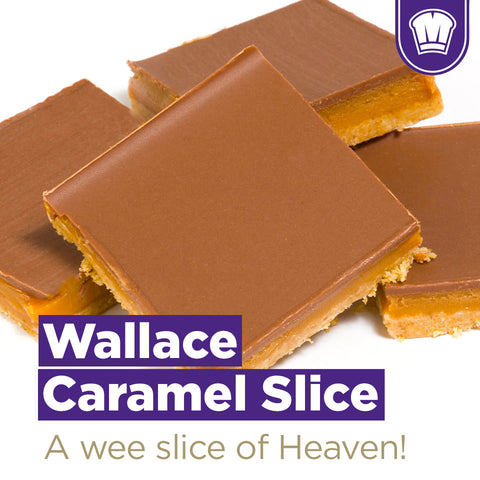 McGhees / Wallace Bakers Caramel Shortbreads (boite de 12)