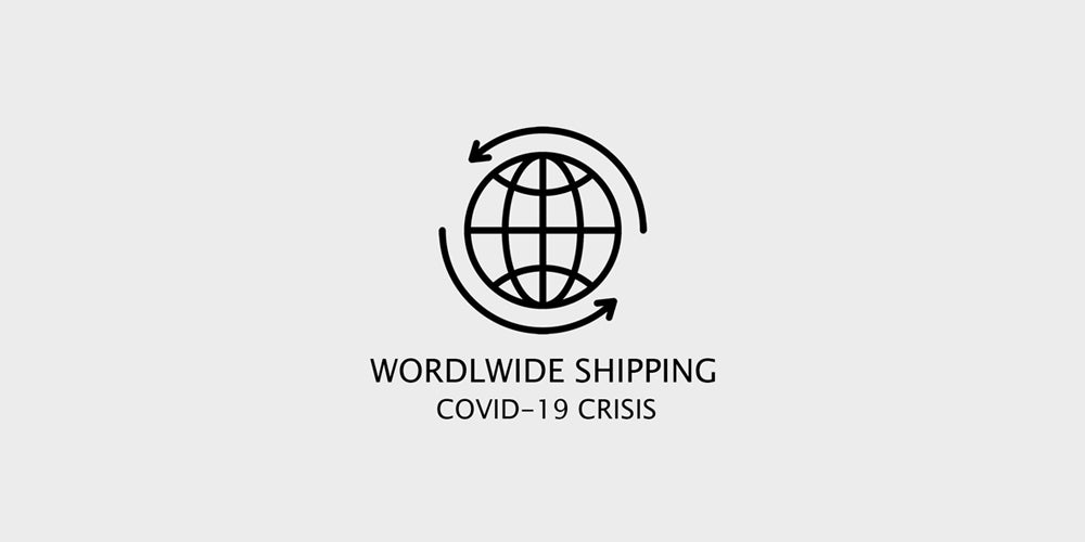 WORLDWIDE SHIPPING IN COVID19 CRISIS 🛒