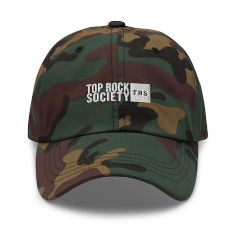 HAT TOP ROCK SOCIETY TRS (Green Camo)