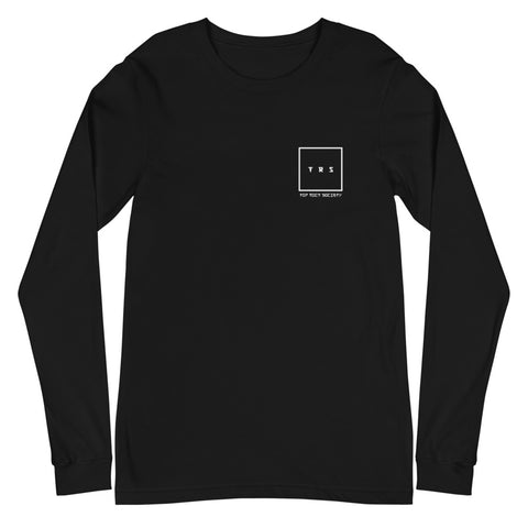 T-SHIRT LONG SLEEVE TRS ROAD TO JAPAN (Black)