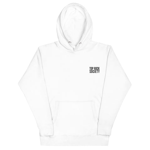 HOODIE TOP ROCK SOCIETY (White)
