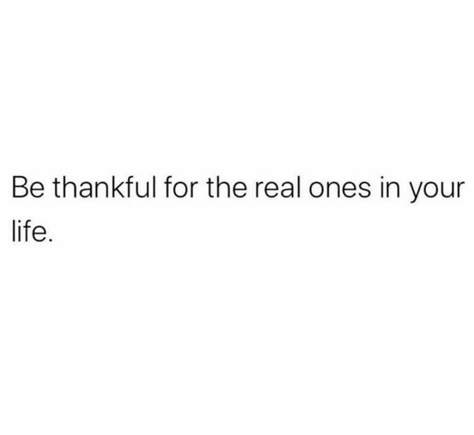Be thankful 🙏