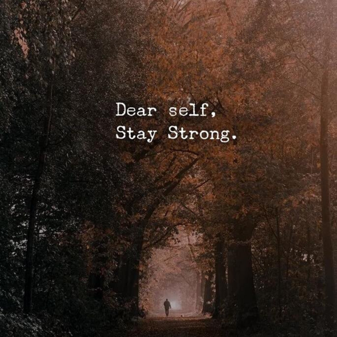 Be strong 💜