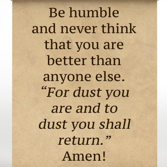 Be Humble 😌🙏