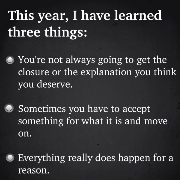 3 Things I've learned 🙏