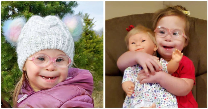 Mom Gives Daughter With Down Syndrome Doll That Looks Like Her And It Spreads Like Wildfire Online