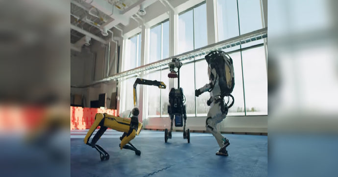 Boston Dynamics-Built Robots Dance It Out To 'Do You Love Me?'