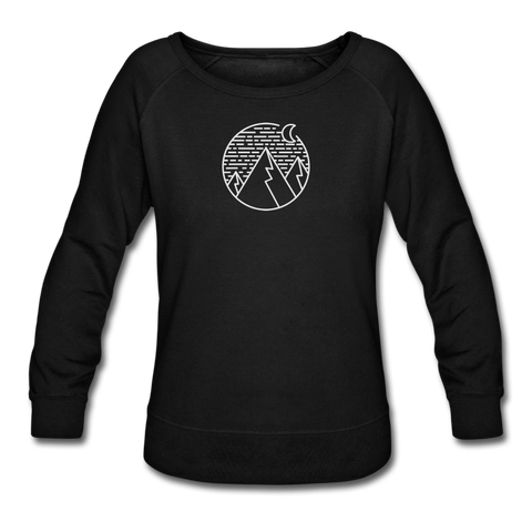 Women's Crewneck Sweatshirt Black - 1in400trillion