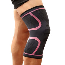 Load image into Gallery viewer, Pink Knee Compression Sleeve