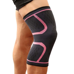 Pink Knee Compression Sleeve