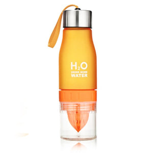 Fruit Infuser Water Bottle Orange