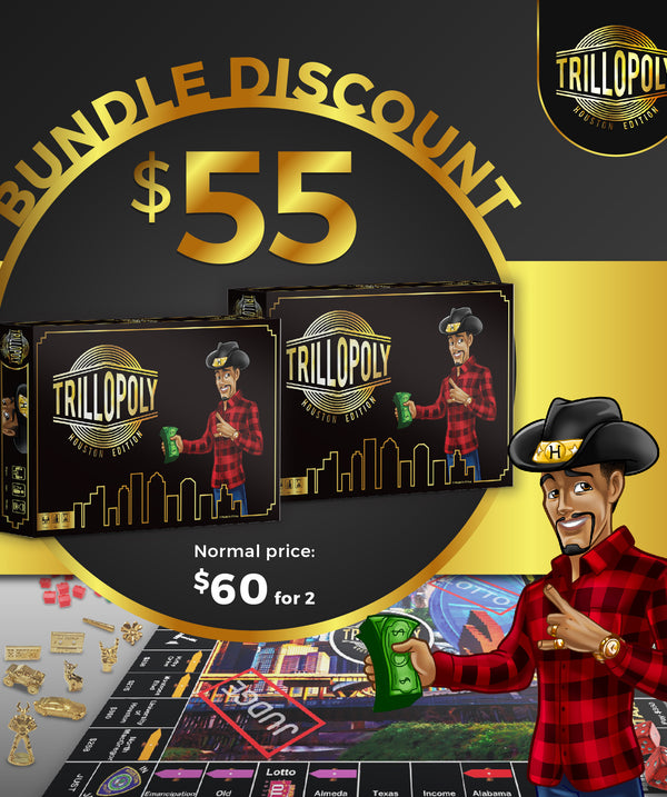 Trillopoly Board Game Bundle Package