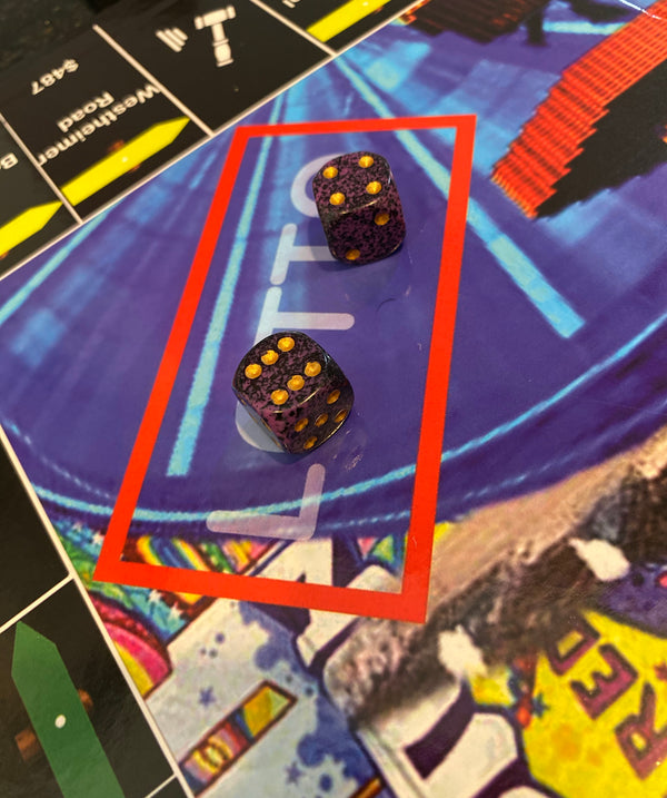 GRAPE KooLAid Trillopoly Dice