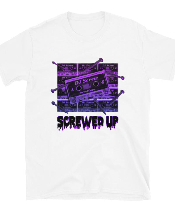Screwed Up Short-Sleeve Unisex T-Shirt