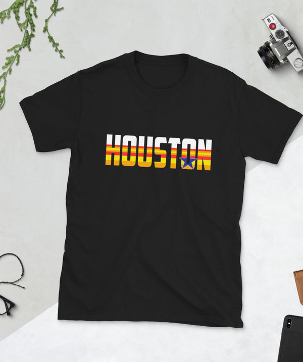 Houston Short-Sleeve Unisex T-Shirt