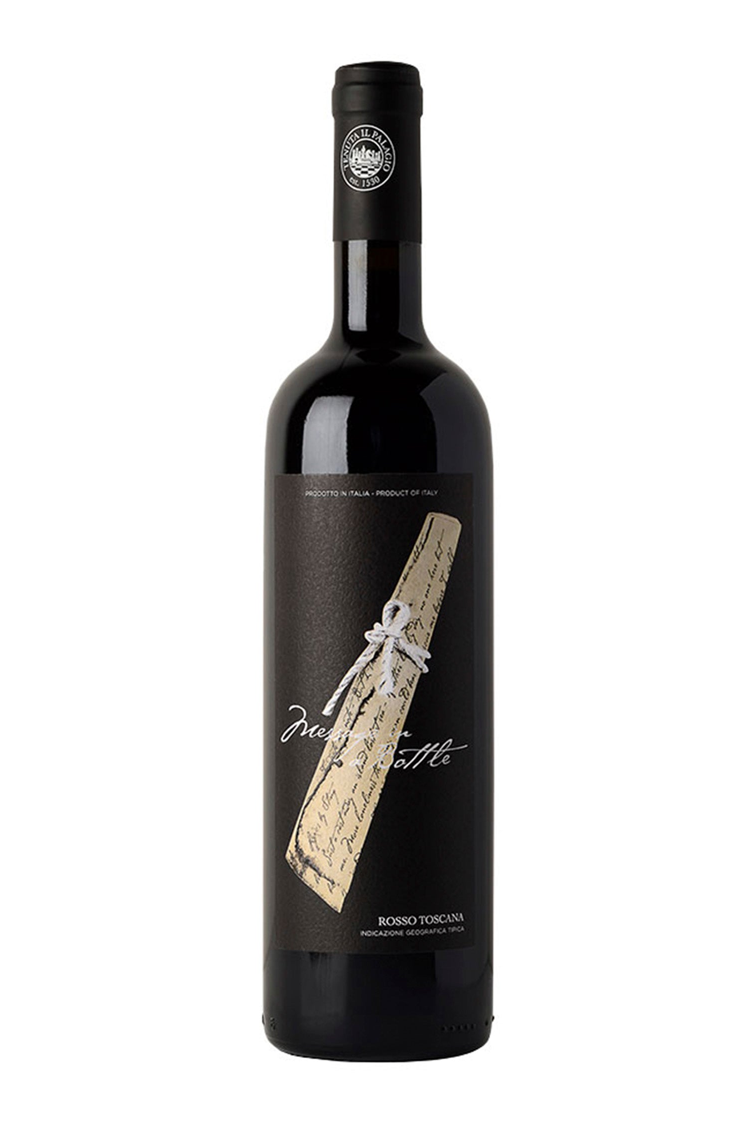 Message in a bottle, Red, Organic, Sangiovese, IGT Tuscany, 13%