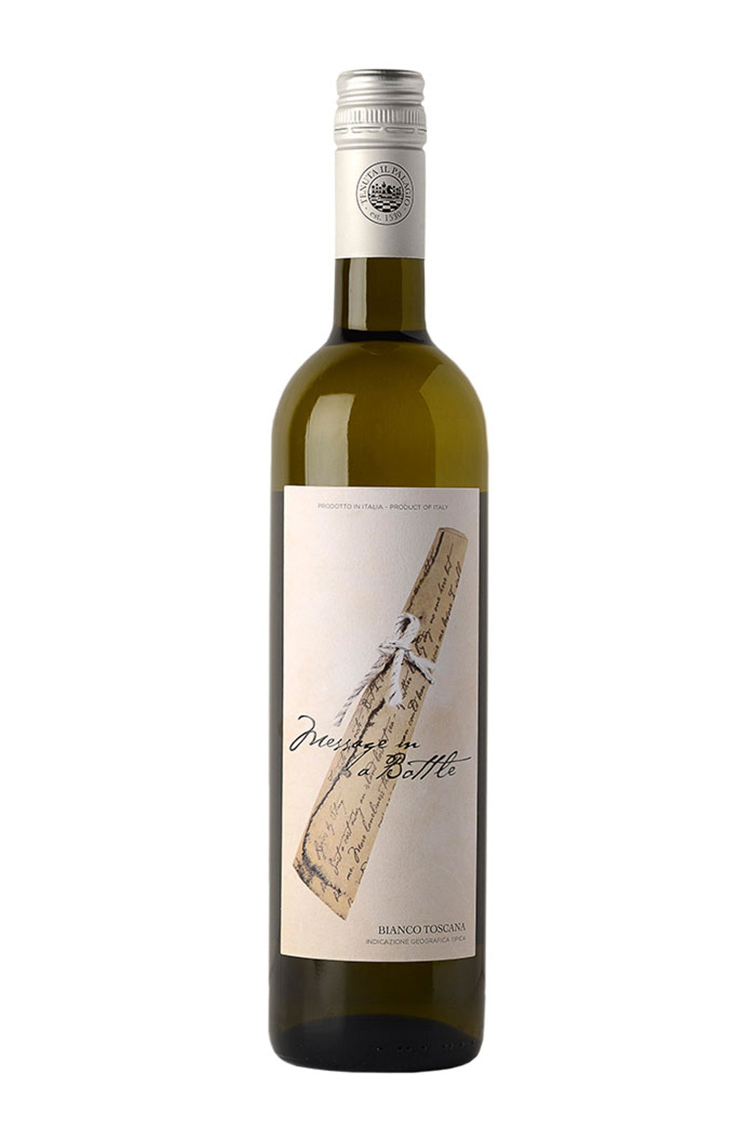 Message in a bottle, White, Organic, Vermentino, 2019 IGT Tuscany, 13%