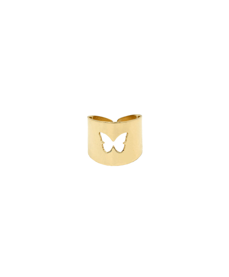 Butterfly Cut Out Ring