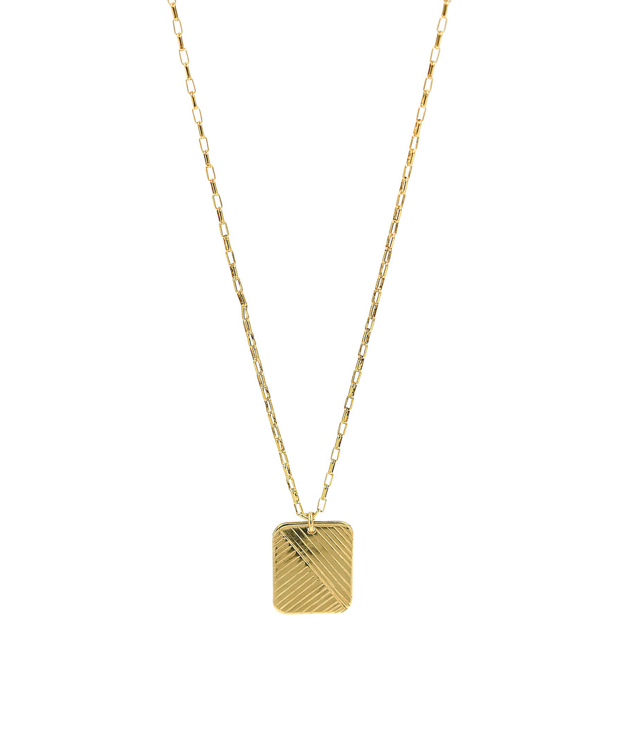 Flow Rectangle Necklace
