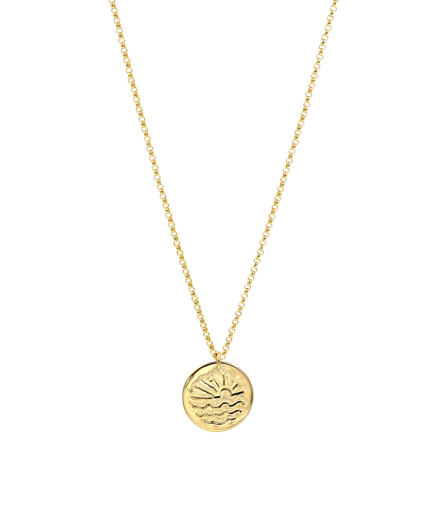 Horizon Coin Necklace
