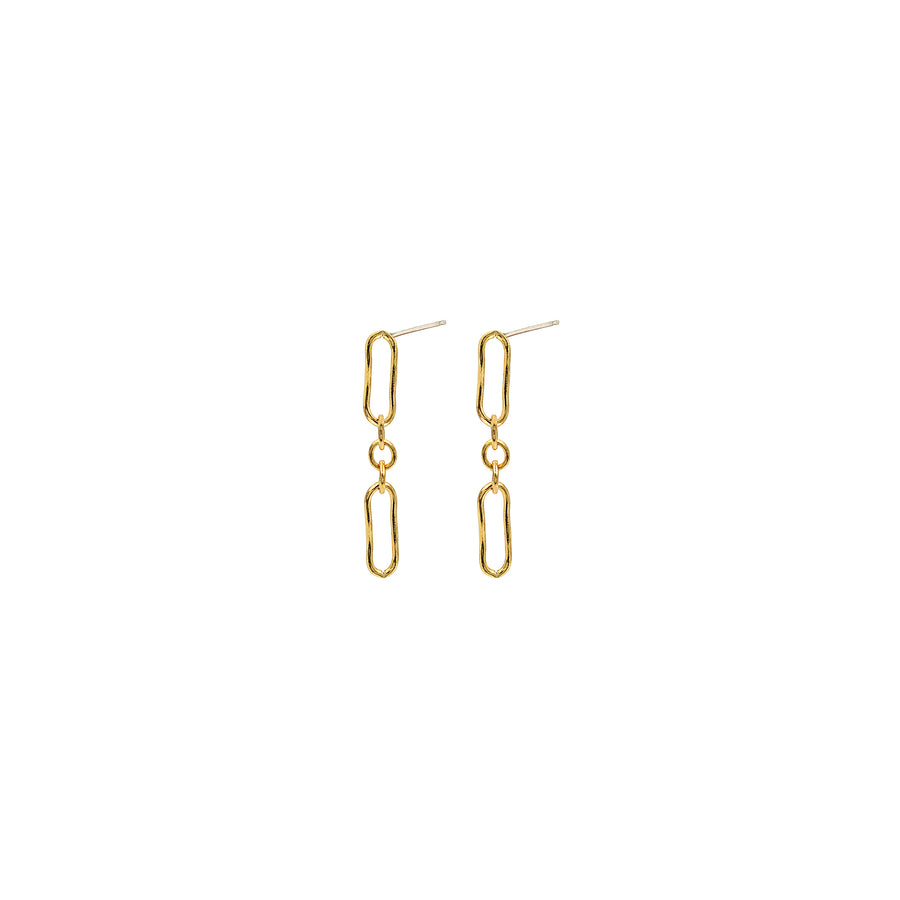 Mini Lace Chain Earrings
