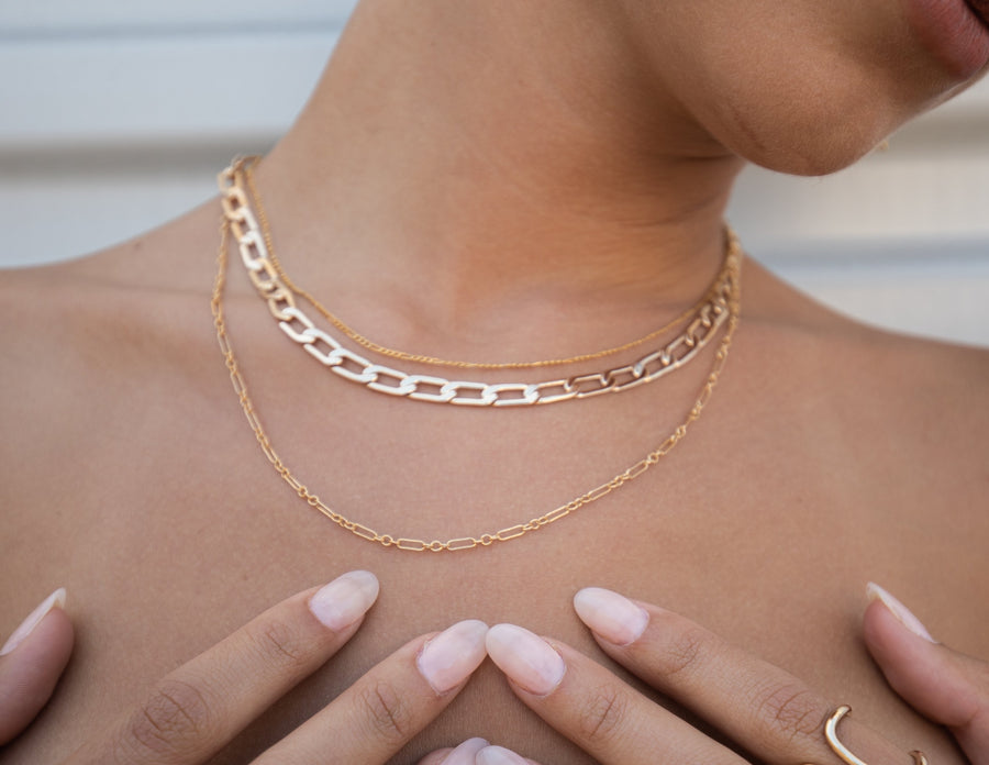 Daily Double Layer Necklace