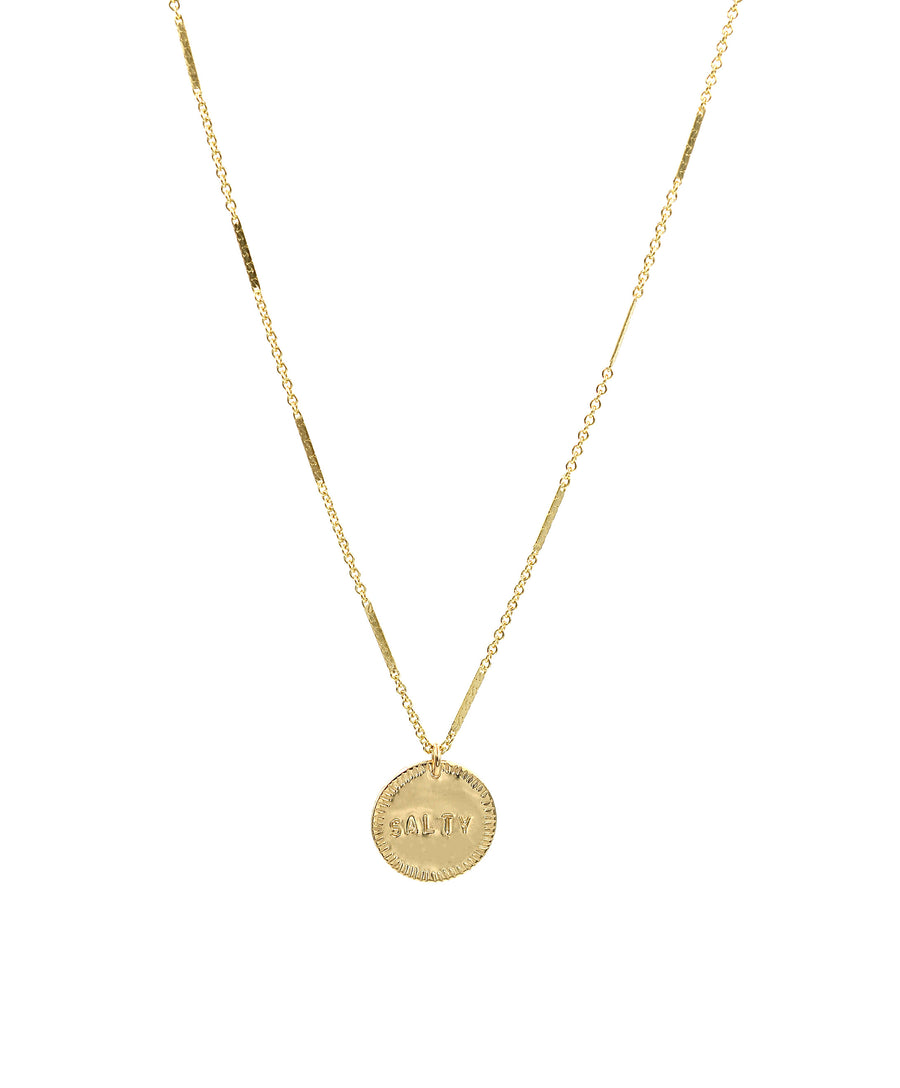 Salty Coin Necklace