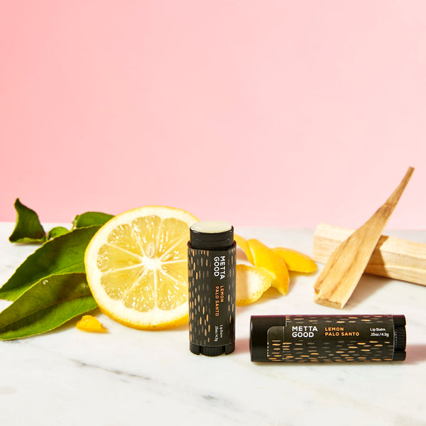 Lemon Palo Santo Lip Balm