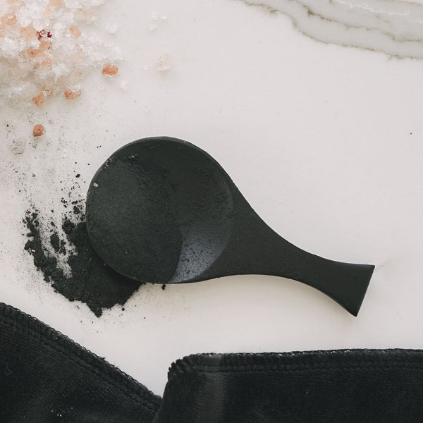 Dark Bamboo Spoon