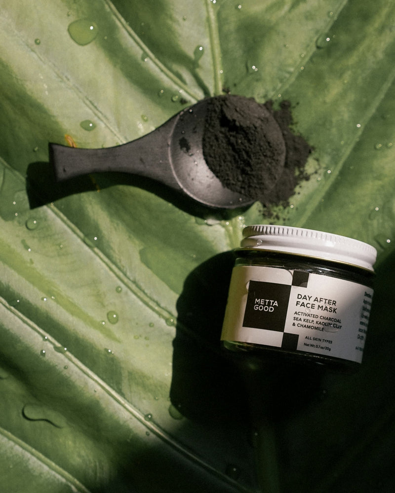 Activated Charcoal Chamomile Face Mask