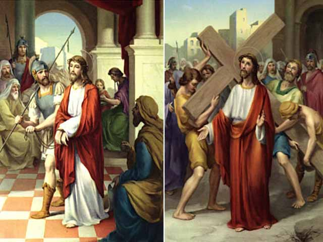Stations of the Cross-Jesus