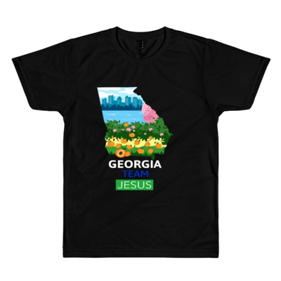 T-shirt Georgia Team Jesus Religious christian
