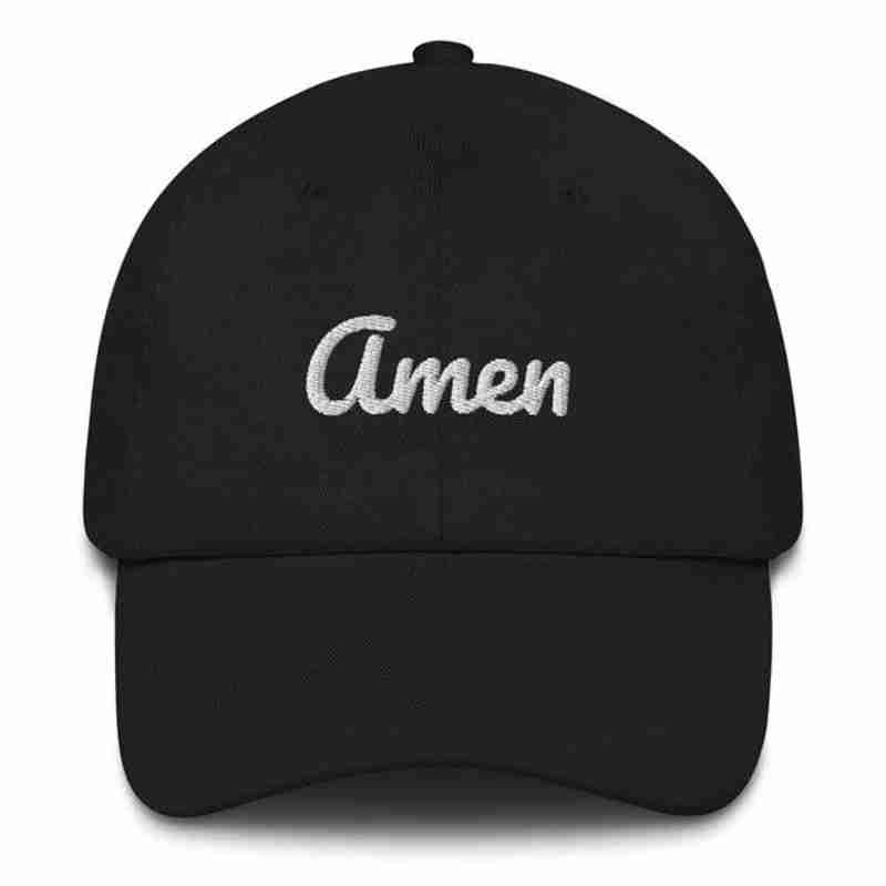 Christian Hat Amen -religious