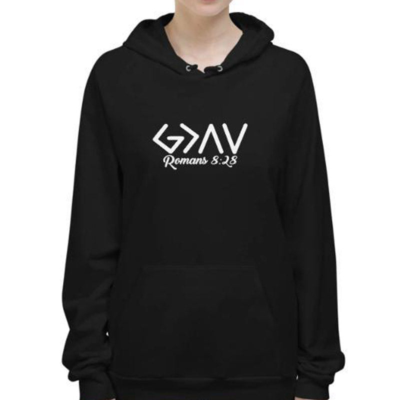 God is greater than the highs and lows Hoodies-Romans 8