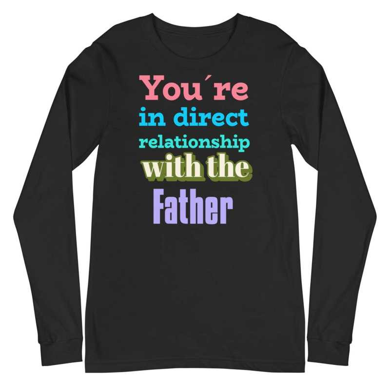black Long sleeve shirts Relationship with the Father