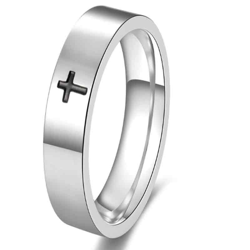 Rings with cross Jesus