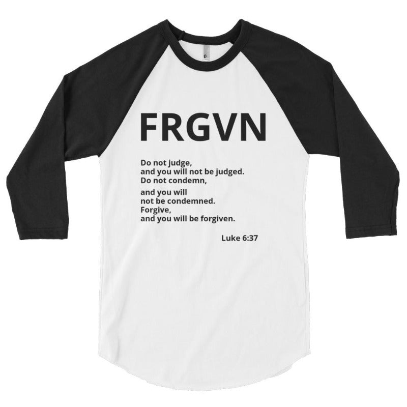 FRGVN clothing-3/4 sleeve raglan shirt