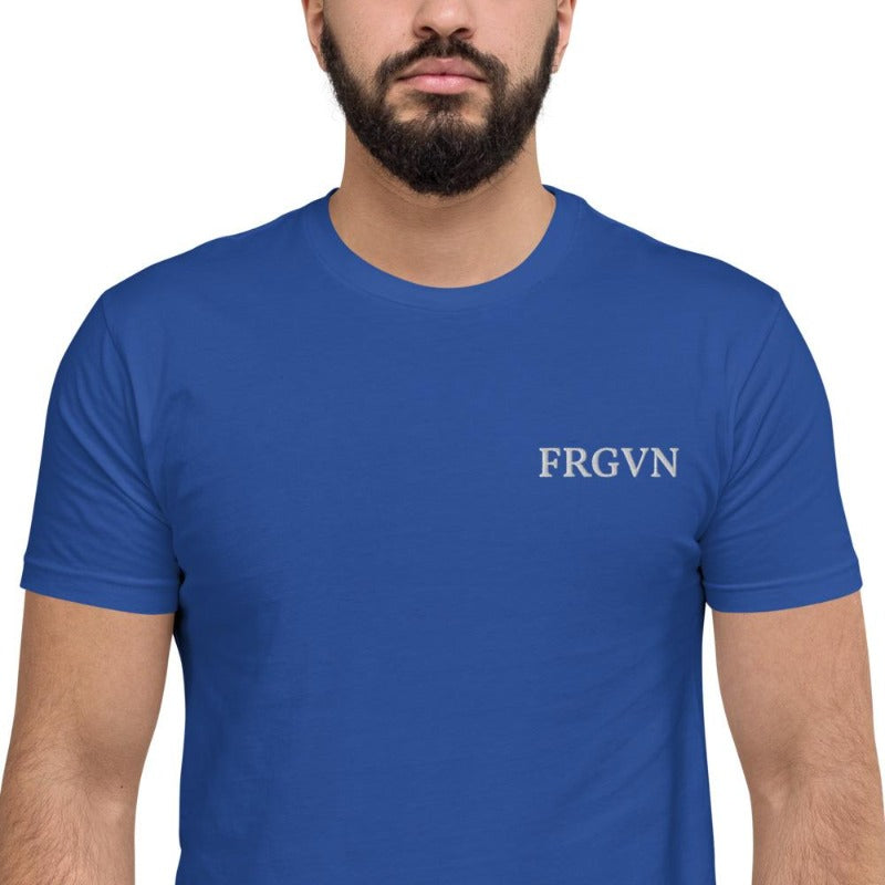 FRGVN ┼ Short Sleeve T-shirt-colour blue