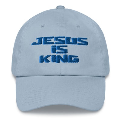 sky blue Hat Styles Jesus is king merch
