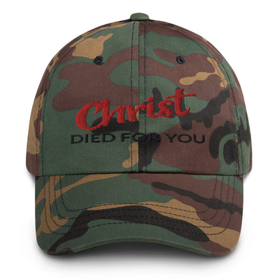 Hat Styles Christ died for you-religious-faith