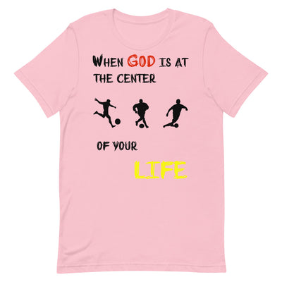 pink  T-Shirts Soccer-christian apparel,christian t shirts